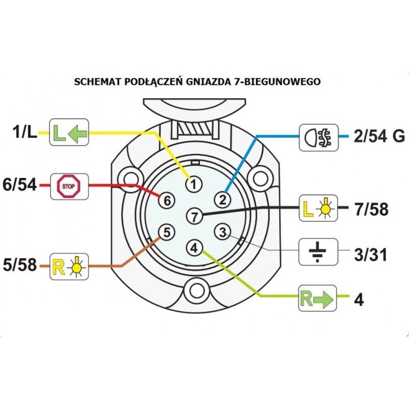Großartig 7 Adriger Anhängerstecker Kabelplan Fotos - Elektrische ...